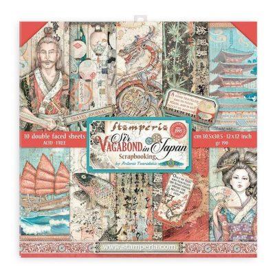 Stamperia Sir Vagabond in Japan